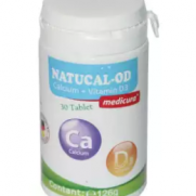 Natucal-OD (Calcium+Vitamin D3) - 30 Tablets
